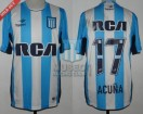 Racing Club - 2016 TR - Home - Topper - RCA/BC - 9na Fecha vs Tigre - M. Acuña