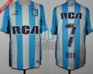 Racing Club - 2016 TR - Home - Topper - RCA/BC - 9na Fecha vs Tigre - G. Bou