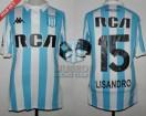 Racing Club - 2017/18 SAF - Home - Kappa - RCA/BC - 18va Fecha vs Velez Sarsfield - L. Lopez