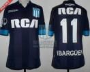 Racing Club - 2017 CS - Away - Kappa - RCA/BC - QF Copa CONMEBOL Sud. IDA vs Libertad - A. Ibarguen