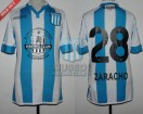 Racing Club - 2017 CA - Home - Kappa - Parche PCM/BC - 32avos de Final Copa Arg, vs A. Mitre - F. Zaracho
