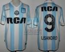 Racing Club - 2017 AM - Home - Kappa - RCA/BC - Copa Arcor vs Huracan - L. Lopez