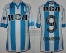 Racing Club - 2017 CS - Home - Kappa - RCA/BC - QF Copa CONMEBOL Sud. VTA vs Libertad - L. Lopez