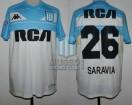 Racing Club - 2018/19 SAF - Away 3rd - Kappa - RCA/BC - 2da Fecha vs Velez Sarsfield - R. Saravia