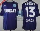 Racing Club - 2018/19 SAF - GK Violeta - Kappa - RCA/BC - 13ra Fecha vs Banfield - J. Garcia