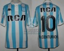 Racing Club - 2018/19 SAF - Home - Kappa - RCA/BC - 14ta Fecha vs Talleres Cba. - A. Centurion