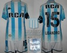 Racing Club - 2018/19 SAF - Home - Kappa - RCA/BC - 21ra Fecha vs Estudiantes LP - L. Lopez
