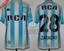 Racing Club - 2018/19 SAF - Home - Kappa - RCA/BC - 21ra Fecha vs Estudiantes LP - F. Zaracho