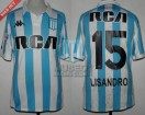 Racing Club - 2018/19 SAF - Home - Kappa - RCA/BC - 5ta Fecha vs Lanus - L. Lopez