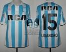 Racing Club - 2018/19 SAF - Home - Kappa - RCA/BC - 9na Fecha vs San Martin de Tucuman - Parche LALCEC - L. Lopez