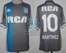 Racing Club - 2018 LIB - Away 3rd - Kappa - RCA/BC - 6ta Fecha Copa CONMEBOL Libertadores vs Cruzeiro - L. Martinez