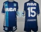 Racing Club - 2018 LIB - Away - Kappa - RCA/BC - 4ta Fecha Copa CONMEBOL Libertadores vs Vasco da Gama - L. Lopez
