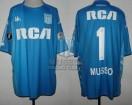 Racing Club - 2018 LIB - GK Celeste - Kappa - RCA/BC - 3ra Fecha Copa CONMEBOL Libertadores vs Vasco da Gama - J. Musso