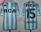 Racing Club - 2018 LIB - Home - Kappa - RCA/BC - 2da Fecha Copa CONMEBOL Libertadores vs Universidad de Chile - L. Lopez