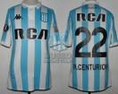 Racing Club - 2018 LIB - Home - Kappa - RCA/BC - 2da Fecha Copa CONMEBOL Libertadores vs Universidad de Chile - A. Centurion