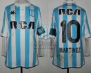 Racing Club - 2018 CA - Home - Kappa - RCA/BC - 32vos de Final Copa Argentina vs Sarmiento (Chaco) - L. Martinez