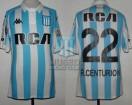 Racing Club - 2018 LIB - Home - Kappa - RCA/BC - 3ra Fecha Copa CONMEBOL Libertadores vs Vasco da Gama - A. Centurion