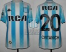 Racing Club - 2019 CSAF - Home - Kappa - RCA/BC - OF Copa de la Superliga IDA vs Estudiantes LP - D. Cvitanich