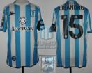 Racing Club - 2020 LIB - Home - Kappa - Aeroset/BC - 2da Fecha Copa CONMEBOL Libertadores vs Alianza Lima - L. Lopez