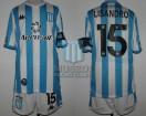 Racing Club - 2020 LIB - Home - Kappa - Aeroset/BC - QF Copa CONMEBOL Libertadores IDA vs Boca Juniors - L. Lopez