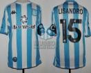 Racing Club - 2020 LIB - Home - Kappa - Aeroset/BC - QF Copa CONMEBOL Libertadores VTA vs Boca Juniors - L. Lopez