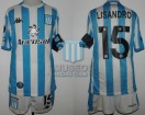 Racing Club - 2020 LIB - Home - Kappa - Aeroset/BC - R16 Copa CONMEBOL Libertadores IDA vs Flamengo - L. Lopez