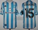 Racing Club - 2020 LIB - Home - Kappa - Aeroset/BC - R16 Copa CONMEBOL Libertadores VTA vs Flamengo - L. Lopez