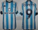 Racing Club - 2021 LIB - Home - Kappa - Aeroset - 2da Fecha Copa CONMEBOL Libertadores vs Sp. Cristal - E. Copetti