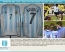 Argentina - 2004 - Home - Adidas - Copa America vs Ecuador - J. Saviola