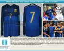Argentina - 2014 - Away - Adidas - Friendly vs Germany (ST) - A. Di Maria