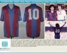 FC Barcelona - 1982/83 - Home - Meyba - Liga de España / Copa del Rey - D. Maradona