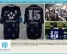 Racing Club - 1997 LIB - Away - Topper - Multicanal - SF Copa Libertadores vs Sp. Cristal (Vta) - P. Michelini