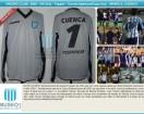 Racing Club - 2002 SUD - GK Gris - Topper - Copa Sudamericana - M. Cuenca
