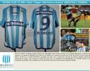 Racing Club - 2003 CL - Home - Topper - Petrobras - 2da Fecha vs Arsenal - S. Romero