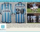 Racing Club - 2005 AP - Home - Topper - Petrobras - 10ma Fecha vs Lanus - R. Capria