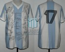 Argentina - 1974 - Home - Adidas - 2nd Round Germany WC vs Brasil - C. Squeo
