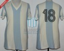 Argentina - 1974 - Home - Adidas - Germany WC vs Haiti - R. Telch