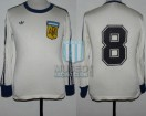 Argentina - 1978 - Away - Adidas - Friendly - O. Ardiles