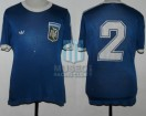 Argentina - 1978 - Away - Adidas - Friendly vs Mutual Uruguaya de Futbolers - L. Galvan