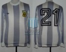 Argentina - 1978 - Home - Adidas - 1st Round Argentina WC vs Italy - J. Valencia