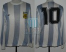 Argentina - 1978 - Home - Adidas - 2nd Round Argentina WC vs Peru - M. Kempes