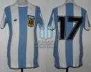 Argentina - 1978 - Home - Adidas - Mariscal Ramon Castilla Cup vs Peru - O. Larrosa