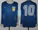Argentina - 1979 - Away - Adidas - Friendly vs Gutierrez Sport Club - D. Maradona