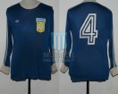 Argentina - 1979 - Away - Adidas - Friendly vs Gutierrez Sport Club - J. Olguin