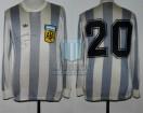 Argentina - 1979 - Home - Adidas - Copa America VTA vs Brasil - R. Diaz