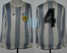 Argentina - 1979 - Home - Adidas - Friendly vs Rest of the World - J. Olguin