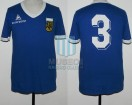Argentina - 1980 - Away - Le Coq Sportif - Friendly vs Combinado de Cuyo - A. Tarantini