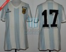 Argentina - 1980 - Home - Le Coq Sportif - Friendly - P. Hernandez