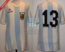 Argentina - 1980 - Home - Le Coq Sportif - Mundialito Uruguay - C. Fren