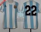 Argentina - 1982 - Home - Le Coq Sportif - Spain WC vs Belgium - J. Van Tuyne